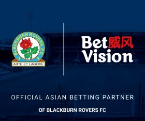 BetVision now official Asian Betting Partner of Blackburn Rovers
